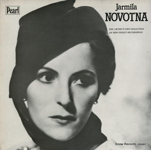 NOVOTNA, JARMILA jarmila novotna GEMM261/2 - front cover