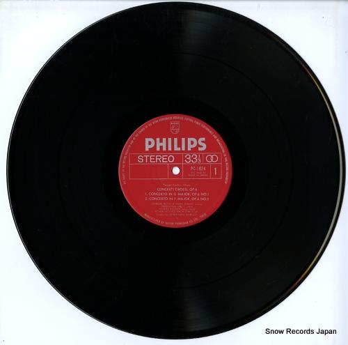 MARGRAF, HORST-TANU handel; concerti grossi, op.6 PC-1824 - disc