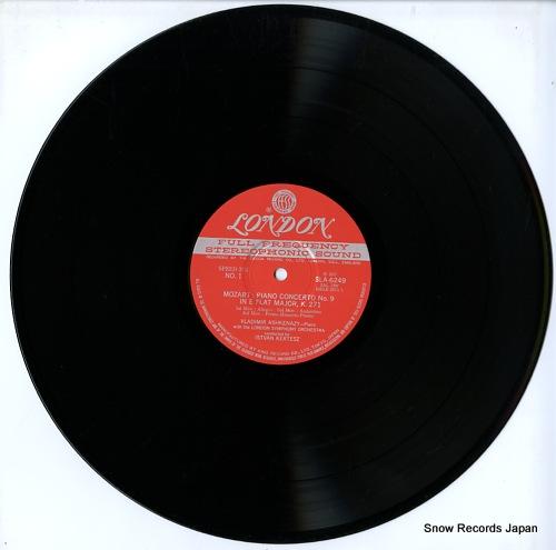ASHKENAZY, VLADIMIR mozart; piano concerto nos.8 & 9 / rondo in a major SLA6249 - disc