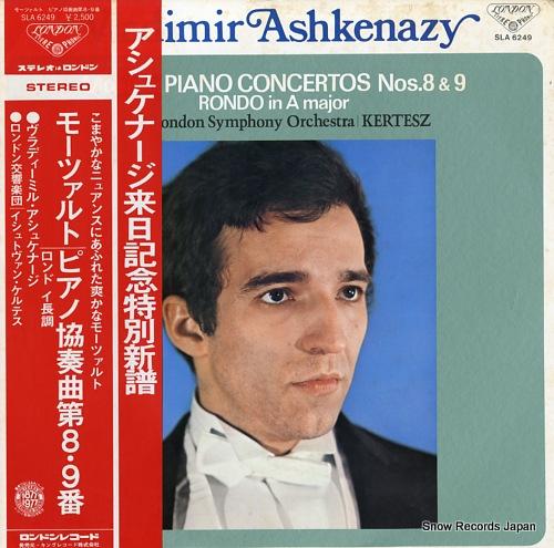 ウラディーミル・アシュケナージ モーツァルト:ピアノ協奏曲第8・9番/ロンドイ長調 SLA6249