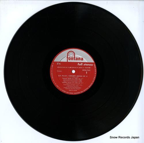 MARGRAF, HORST-TANU handel; concerti grossi opus 6 / nos.2, 5 & 6 SFON-7551 - disc