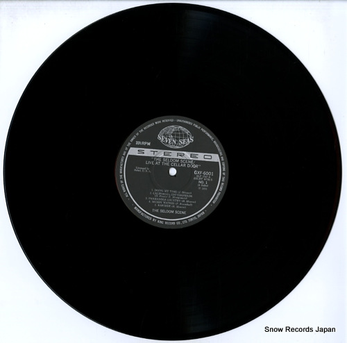 SELDOM SCENE, THE live at the cellar door GXF6001/2 - disc