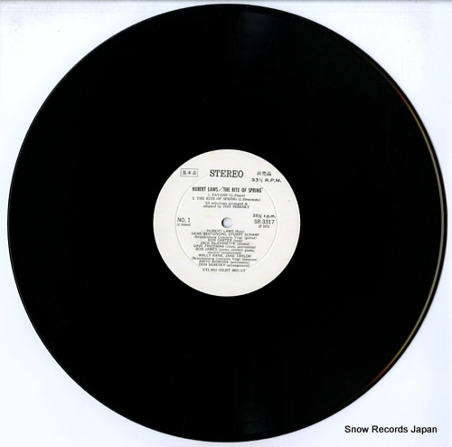 LAWS, HUBERT the rite of spring SR3317 - disc