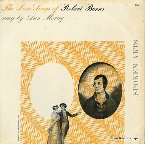 アン・モレー the love songs of robert burns SPOKENARTS754