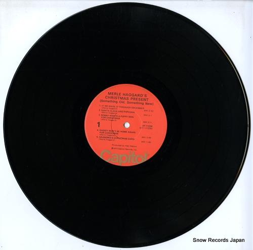 HAGGARD, MERLE merle haggard's christmas present ST-11230 - disc