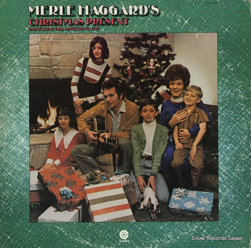 HAGGARD, MERLE merle haggard's christmas present ST-11230 - front cover