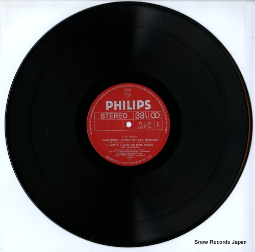 I MUSICI telemann; suite & concertos PL-1320 - disc