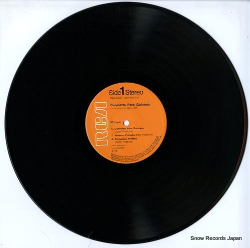 アストル・ピアソラの アストル・ピアソラの新しい世界 RCA-5037