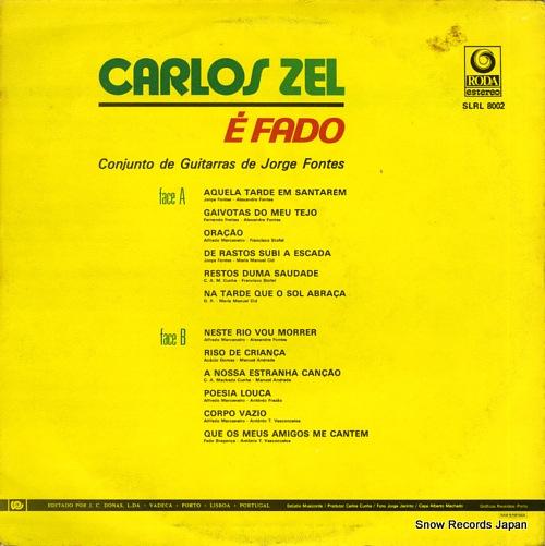 カルロス・ゼル e fado SLRL8002