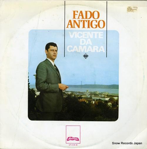 VICENTE DA CAMARA fado antigo LP-S-04-26