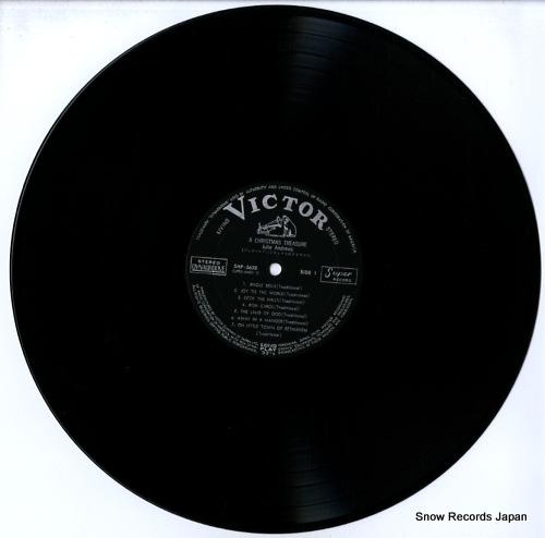ANDREWS, JULIE a christmas treasure SHP-5658 - disc