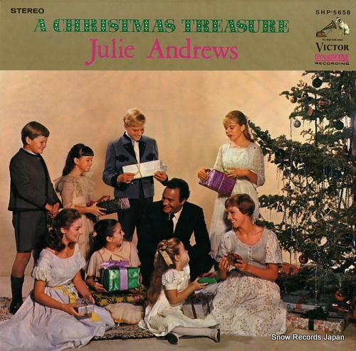 ANDREWS, JULIE a christmas treasure SHP-5658 - front cover