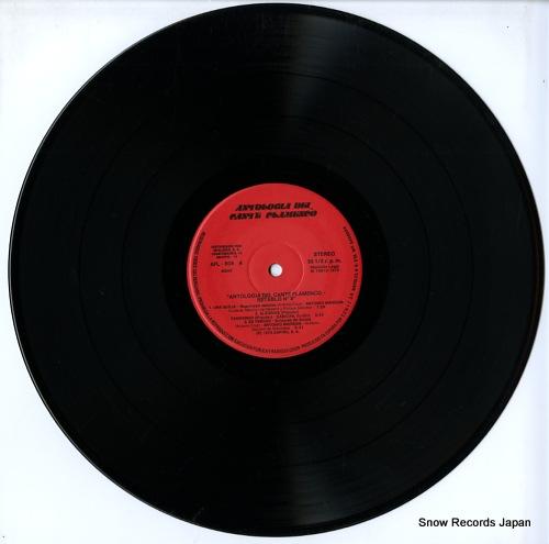 V/A antologia del cante flamenco / retablo 8 AFL-808 - disc