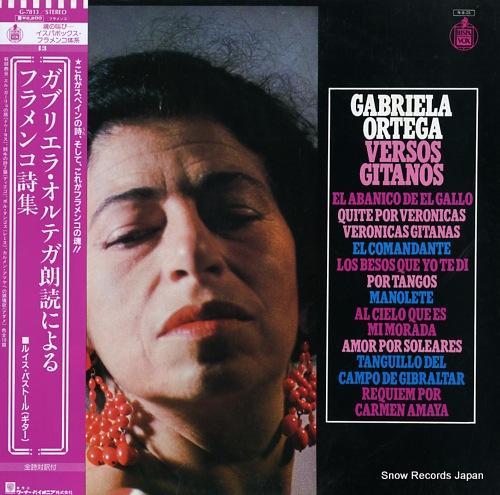 ORTEGA, GABRIELA / LUIS PASTOR versos gitanos G-7813 - front cover