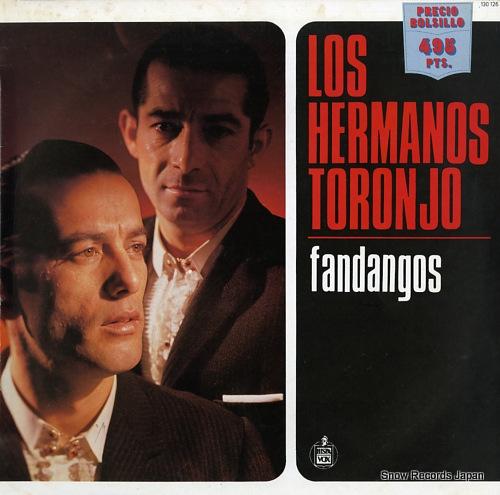 LOS HERMANOS TORONJO fandangos 130126 - front cover