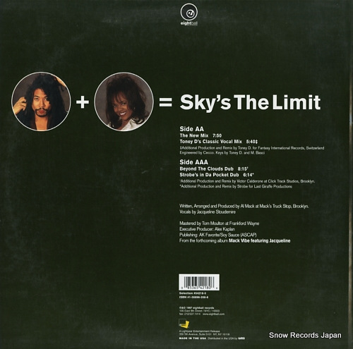 MACK VIBE, THE sky's the limit 54218-0 - back cover