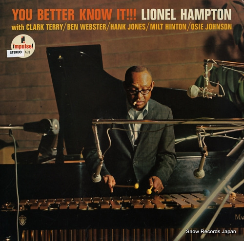 HAMPTON, LIONEL you better know it !!! AS-78 - front cover
