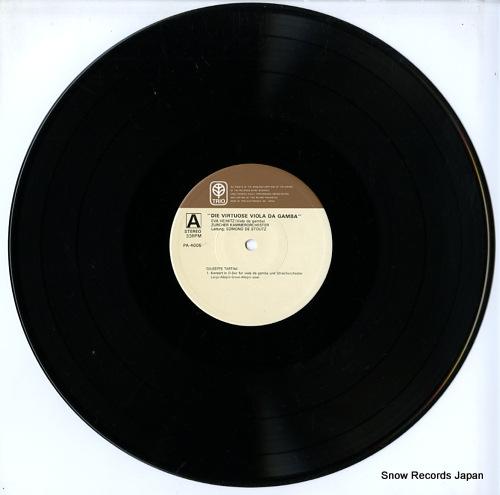 STOUTZ, EDMOND DE die virtuose viola da gamba PA-4005 - disc