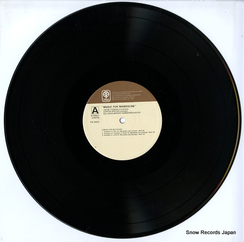 THOMAS, JACOB musik fur mandoline PA-4002 - disc