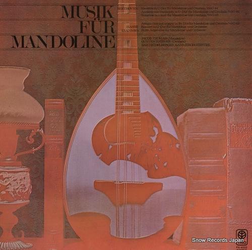 THOMAS, JACOB musik fur mandoline PA-4002 - front cover