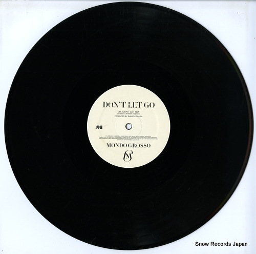 MONDO GROSSO don't let go AIJT5115 - disc