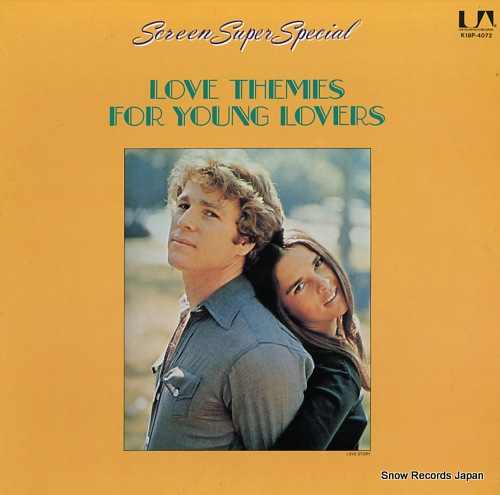 V/A screen super special / love themes for young lovers K18P-4072 - front cover