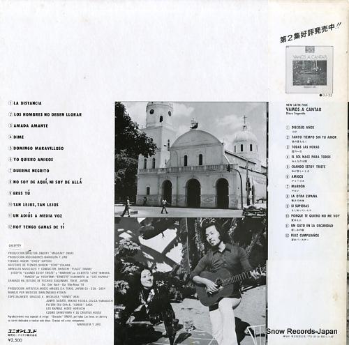 MARIQUITA AND JIRO vamos a cantar GU-21 - back cover