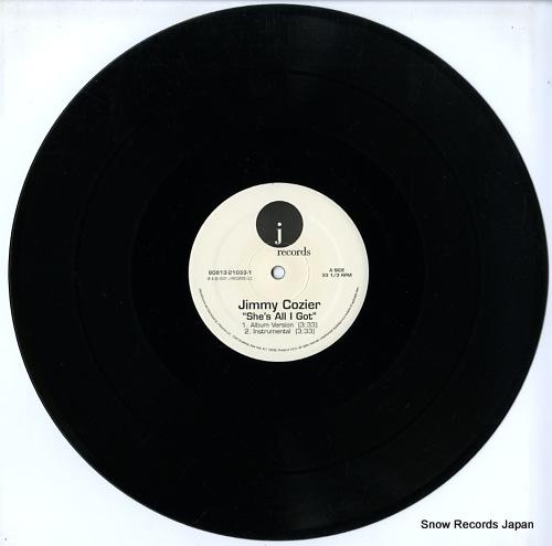 COZIER, JIMMY she's all i got 8081321053-1 - disc