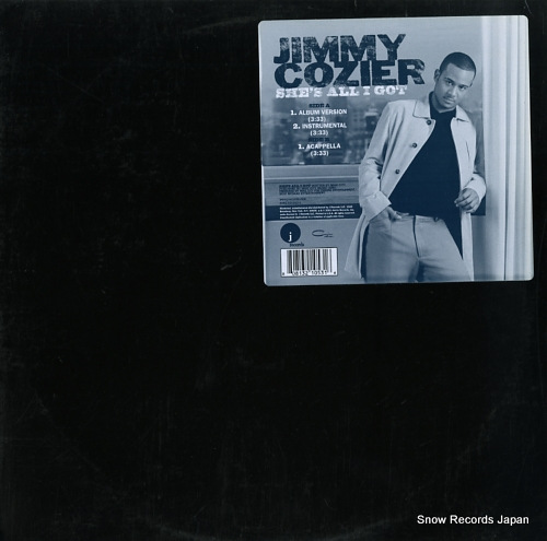 COZIER, JIMMY she's all i got 8081321053-1 - front cover