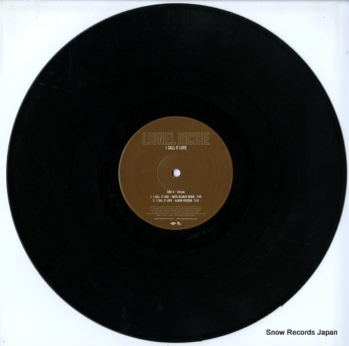 RICHIE, LIONEL i call it love 0602517076853 - disc