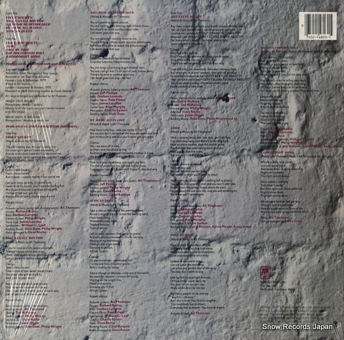 THOMSON, ALI take a little rhythm SP-4803 - back cover