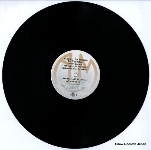 THOMSON, ALI take a little rhythm SP-4803 - disc