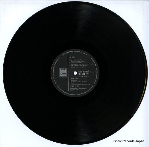 CLERC, JULIEN jaloux EOS-81188 - disc