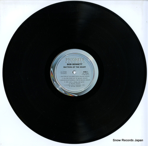 BENNETT, BOB matters of the heart JU37966 - disc