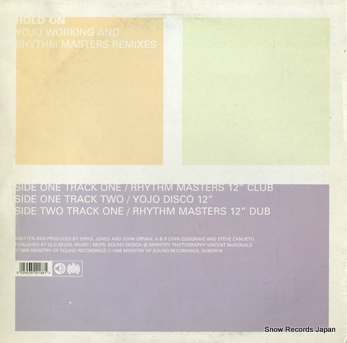 YOJO WORKING hold on (remixes) SOMTR18 - back cover