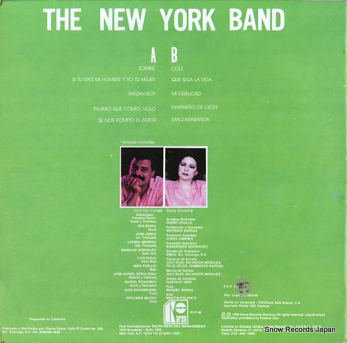 NEW YORK BAND, THE wilfrido vargas presenta KLP-98 - back cover