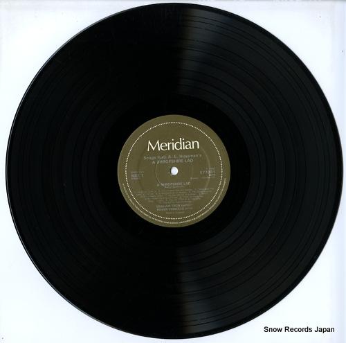 TREW, GRAHAM / ROGER VIGNOLES songs from a e housman's