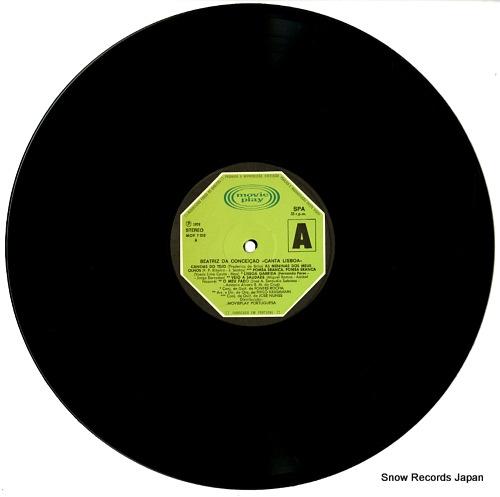 DA CONCEICAO, BEATRIZ canta lisboa MOV-7.010S - disc