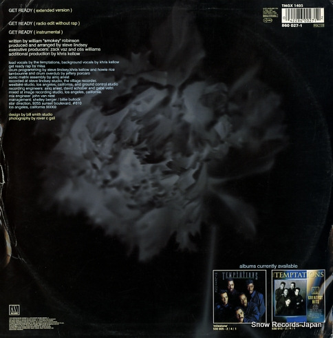 TEMPTATIONS, THE get ready TMGX1405/860027-1 - back cover