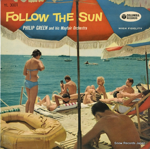 GREEN, PHILIP follow the sun YL3001 - front cover