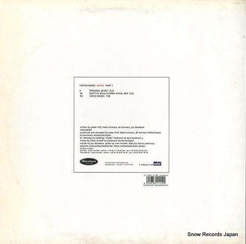 TIEFSCHWARZ music (part1) 0111110BTN - back cover