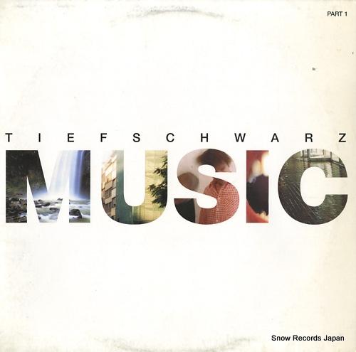 TIEFSCHWARZ music (part1) 0111110BTN - front cover