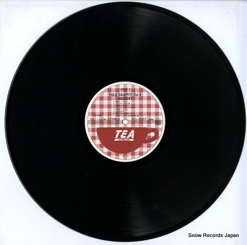 FOR LIFE SINGERS memory / folk graffiti vol.4 FLL-3007 - disc