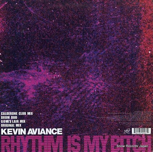 AVIANCE, KEVIN rhythm is my bitch WM50046-1 - back cover