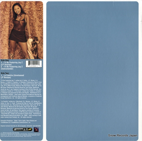 BROWN, FOXY i'll be 314574029-1 - back cover
