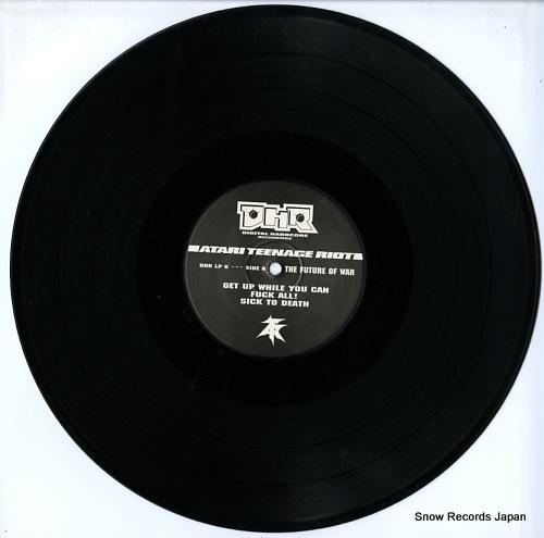 ATARI TEENAGE RIOT the future of war DHRLP6 - disc