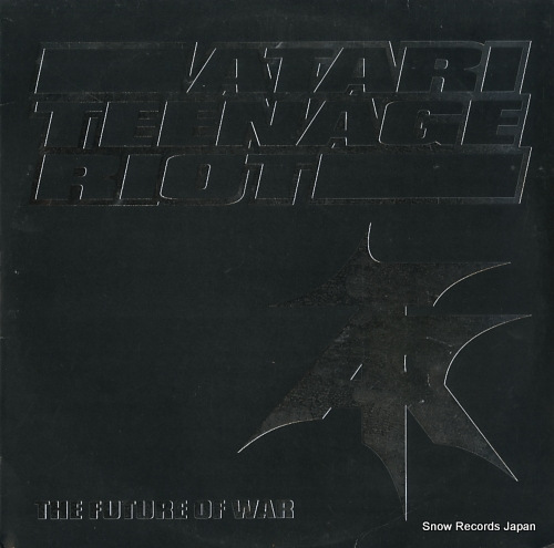 ATARI TEENAGE RIOT the future of war DHRLP6 - front cover
