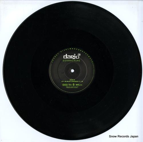 DARIO G sunmachine WEA173T/3984-24616-0 - disc