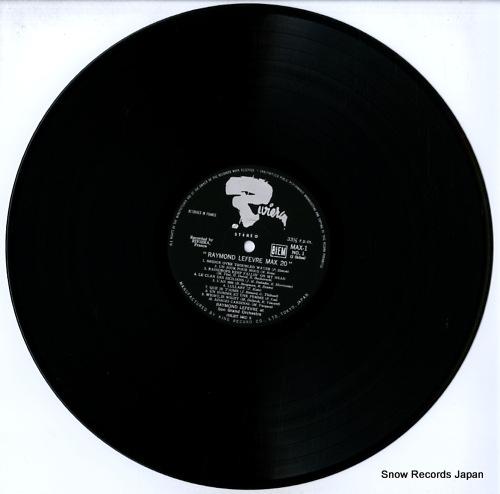 LEFEVRE, RAYMOND max 20 MAX1 - disc