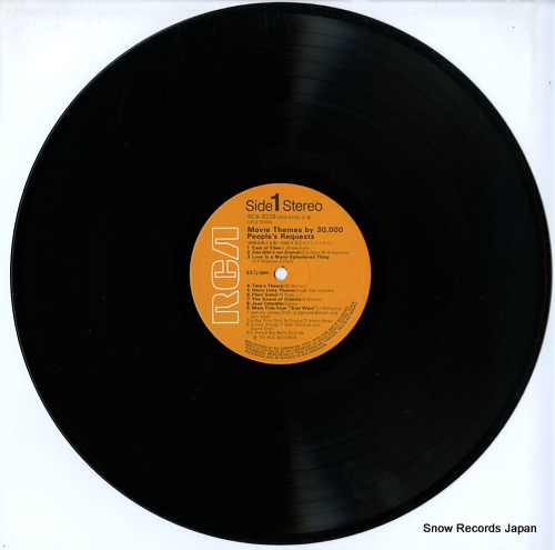 V/A movie themes by 30,000 people's requests RCA-8229-30 - disc